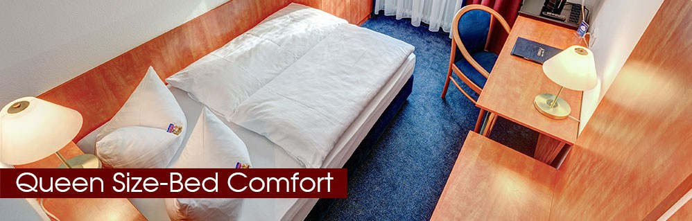 Queen Size-Bed Comfort