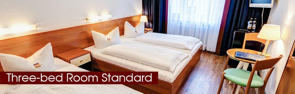 Three-bed room standard