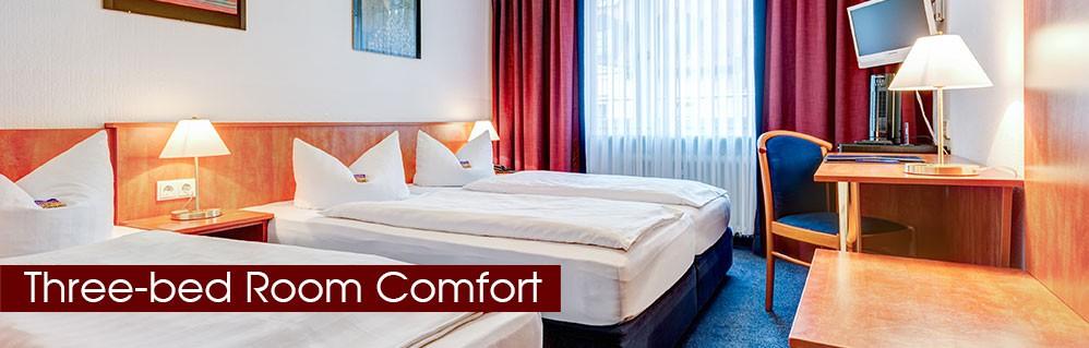 Three-bed room comfort
