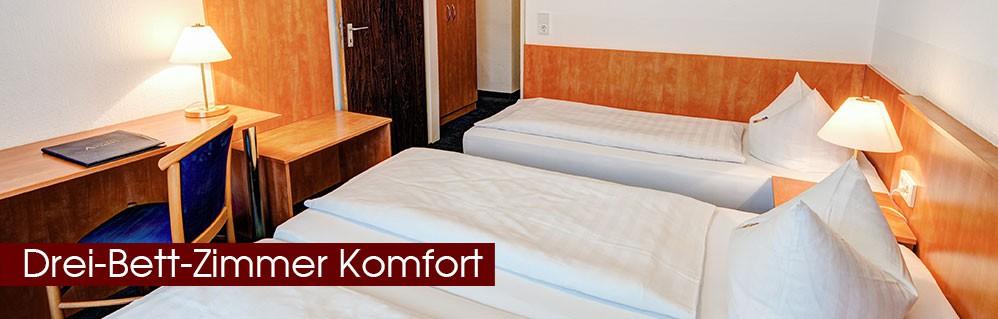 Drei-Bett-Zimmer Komfort