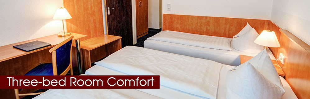 Three-bed room comfort
