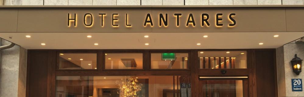 Neuer Hotel-Eingang
